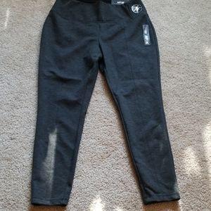 Apt 9 dark grey skinny leg pants